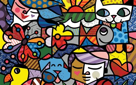 pop art a colourful abstract art colorful pop art wallpaper 2880x1800 523974 wallpaperup