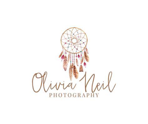 logo design for dreams items similar to dreamcatcher photography logo design