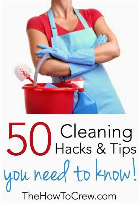 50 Cleaning Tips 50 awesome cleaning hacks to make your easier