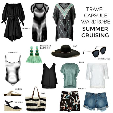 Cruise Wardrobe - 12 tips for how to pack and plan for your next cruise
