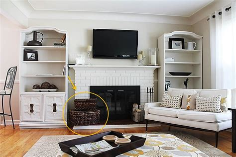 Storage Ideas For Living Room Organizer Ideas For A More Organized Home