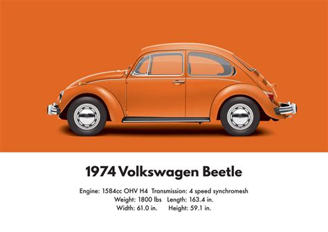 orange volkswagen beetle 1974 vw beetle brilliant orange by artbyedo on deviantart