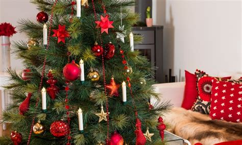 candele albero di natale 10 led per albero di natale groupon goods