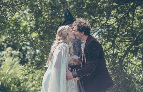 turns their garden into middle earth for a hobbit themed wedding 18 pics