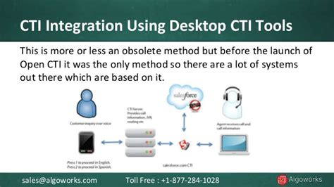 c ti how to integrate salesforce with cti