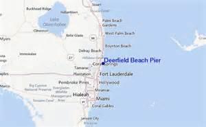 deerfield pier previs 245 es para o surf e relat 243 rios de