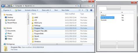 windows 8 explorer winforms c windows7 vista style listview stack overflow
