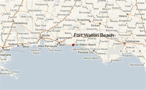 ft walton florida map fort walton location guide