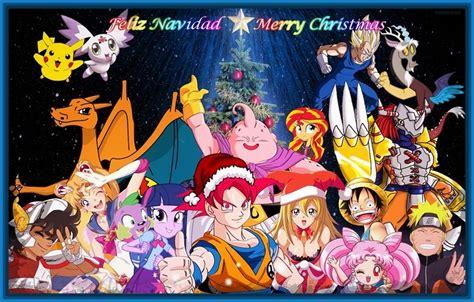 imagenes navideñas de anime imagenes de anime para navidad archivos imagenes de anime