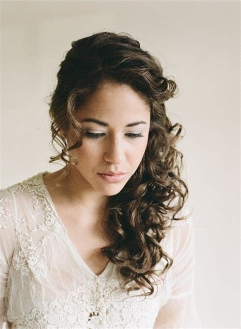 25 best ideas about curly wedding hairstyles on curly wedding hair hair