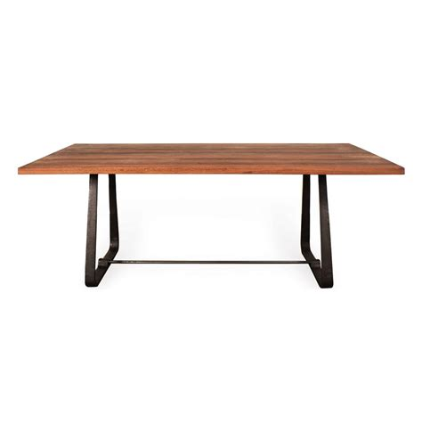 modern reclaimed wood dining table westin industrial reclaimed wood modern dining table