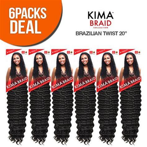 harlem125 synthetic hair braids kima braid brazilian twist amazon com harlem125 synthetic hair braids kima braid