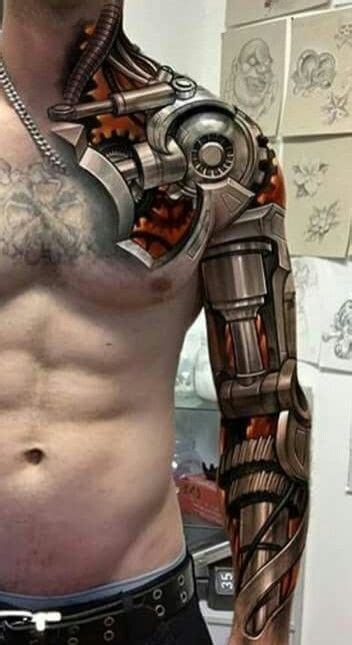 biomechanical tattoo uk biomechanical tattoo speed up and simplify the pistol