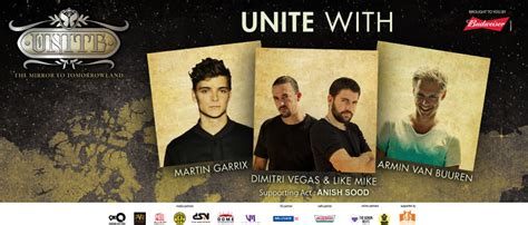 the ticket to tomorrow books unite the mirror to tomorrowland tickets booking