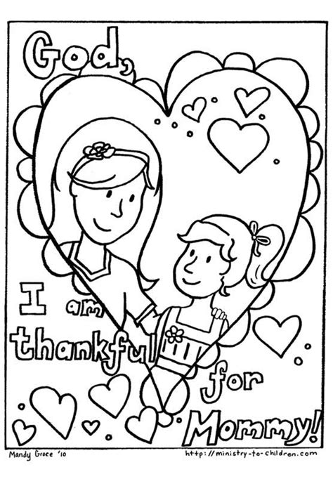 christian childrens coloring pages for mother s day free christian coloring pages for kids children and