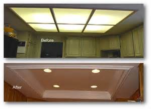 how to install recessed lighting in kitchen kitchen coffered ceiling appleton renovations