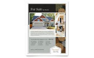 Real Estate Flyer Template Word by Suburban Real Estate Flyer Template Word Publisher