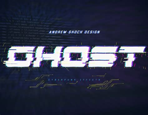cyberpunk text effects vol   sko graphicriver