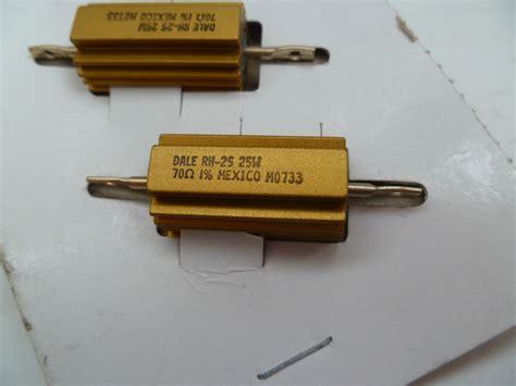 dale resistor rh 25 dale rh 25 25w 70 ohm ohms 7231 resistor resistant 1 mansfieldfw 14e general purpose resistors