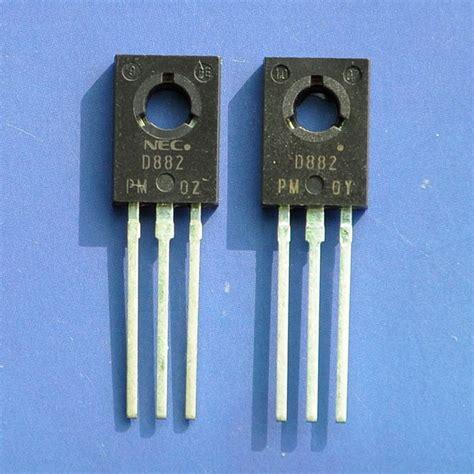 transistor d882 p 331 2sd882 original nec transistor npn d882 rohs x5pcs ebay