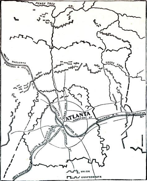 map of atlanta during civil war civil war erick herrera thinglink