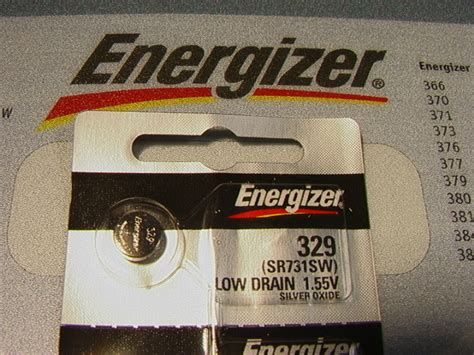 Dijamin Button Cell 329 Sr731sw energizer 329 battery sr731sw batteries