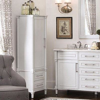 Bathroom Vanity With Linen Cabinet Shop Bathroom Vanities Vanity Cabinets At The Home Depot