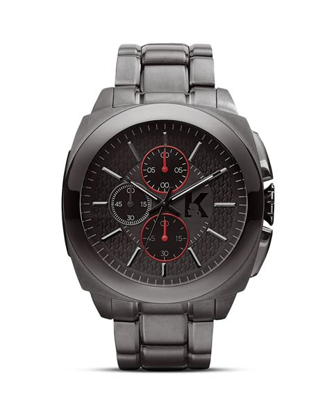 karl lagerfeld karl keeper 46mm in gray for lyst