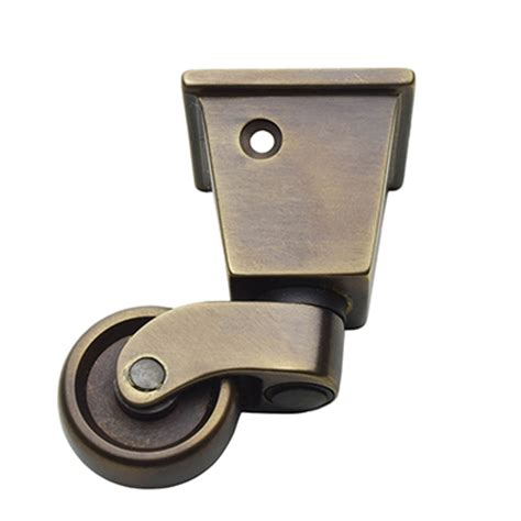 H 74 1 1 4 Inch Square Cup Caster For Furniture Legs