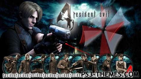 theme google chrome resident evil ps3 themes 187 resident evil 4 hd dynamic theme