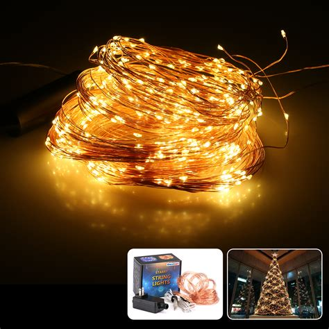 starry string lights on copper wire 720led copper wire branch string lights string starry