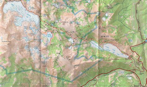 desolation wilderness map desolation wilderness 365 days to draft