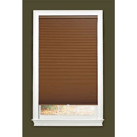 allen roth l shades allen roth 1 5 in cordless blackout cellular shade