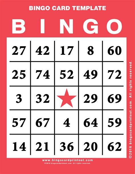 bingo credit card template bingo cards pdf relief printable bingo cards