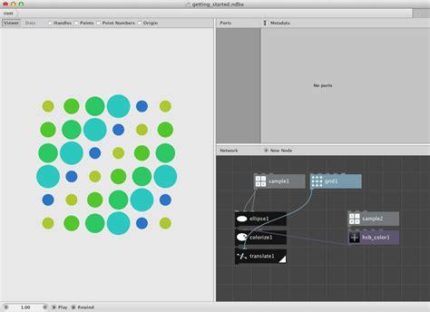 node colors getting started nodebox