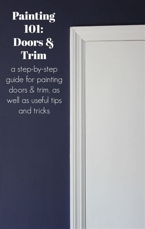 best white paint color for trim and doors painting 101 how to paint trim and doors