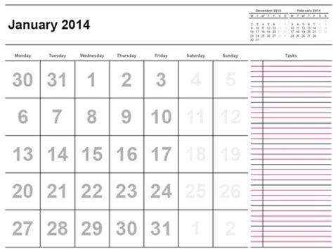 printable calendar 2014 by month printable calendar 2014 171 home life weekly