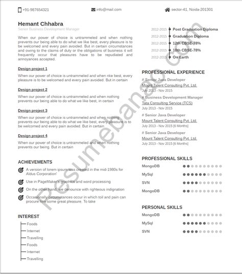 make a resume free online daxnet me