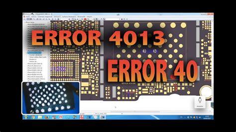 error 4013 itunes soluci 243 n ip box2 error 40 iphone 6 parte 1