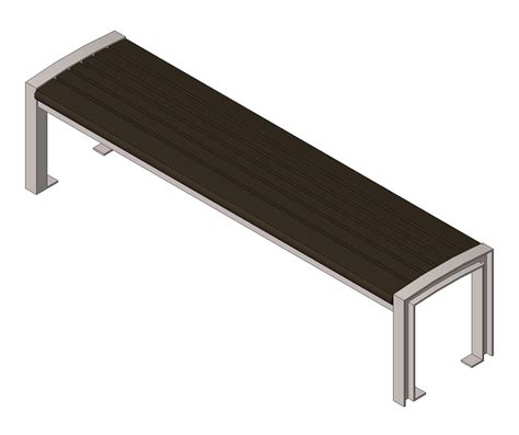 site furnishings benches bim objects families