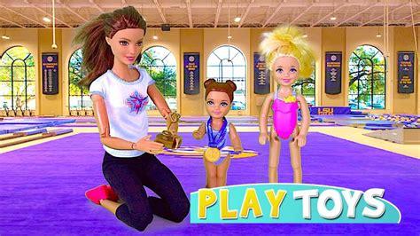 doll lesson doll gymnastics lesson play baby dolls