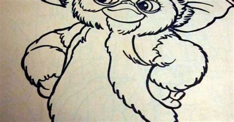 gremlins  coloring book coloring pages pinterest