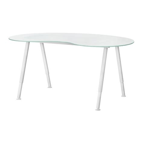 ikea frosted glass desk images