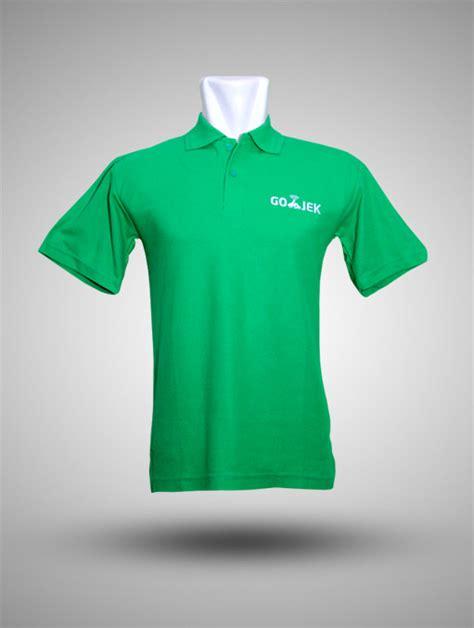 Jaket Parasut Gojek kaos polo cotton combed 30s gojek hijau produsen kaos