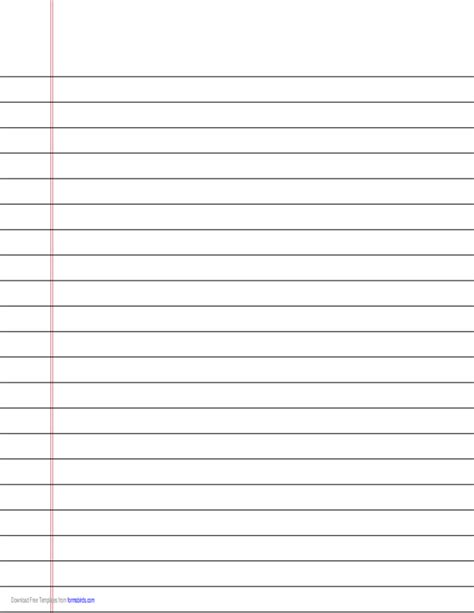 printable lined paper wide ruled wide ruled lined paper on a4 sized paper in landscape
