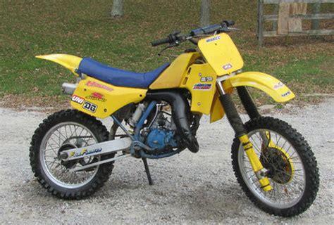 1986 Suzuki Rm 125 1986 Suzuki Rm125 Oh Fullfloater Suzuki Rm