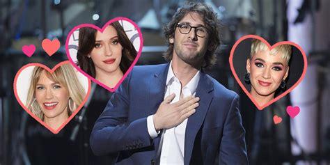timeline  tony awards host josh grobans dating history
