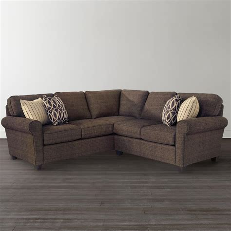 L Sectional Sofas by Brewster Shaped Sectional