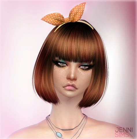 bow headband at jenni sims 187 sims 4 updates jenni sims sets of accessory sunglasses bow headband