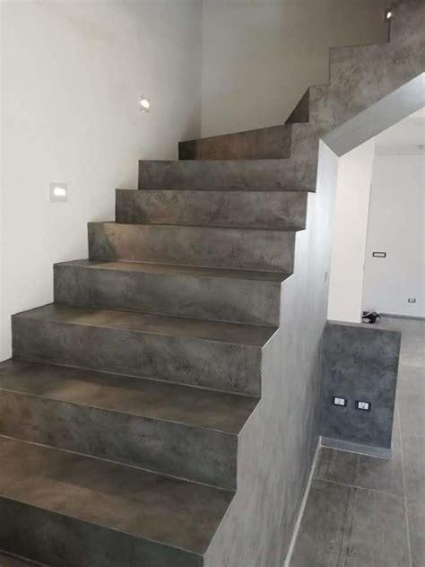 Scale Rivestite In Resina by Progetto Resina Idee Ristrutturazione Casa
